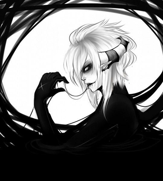zerochan/AishaxNekox/Skye/#811441  ◾AishaxNekox Mangaka ◾Skye Character ◾Demon  ◾Horns  ◾Unnaturally White Skin