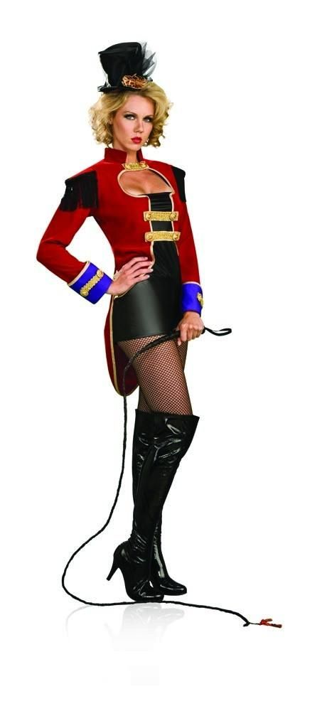 Sexy Circus Ring Mistress Master Costume Adult