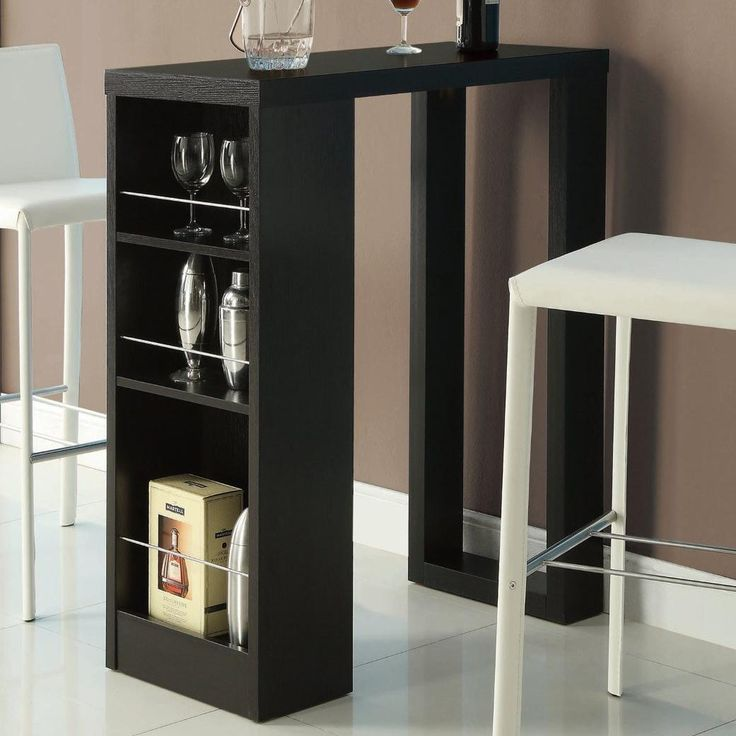 bar units and bar tables small bar table with storage shelves buy