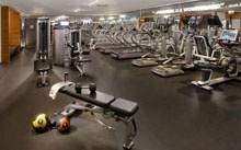 Bust a move in our newly renovated 24-hour fitness center! our-digs