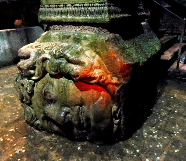 Travel and Lifestyle Diaries Blog: The Sunken Palace in Istanbul: Basilica Cistern