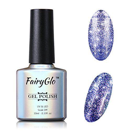 Esmalte de gel FairyGlo Platinum para uñas, brillante, 10 ml #Esmalte #FairyGlo #Platinum #para #uñas, #brillante,