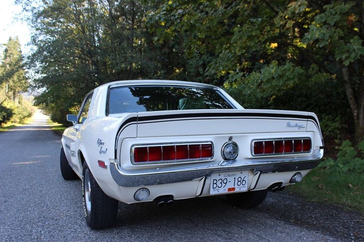 1968 Ford: Mustang California Special GT/CS