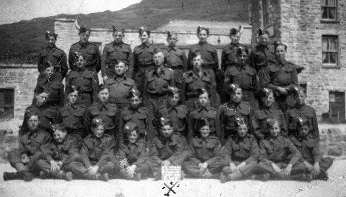 Cadlanciau Milwrol R.W.F. Army Cadets 1942.