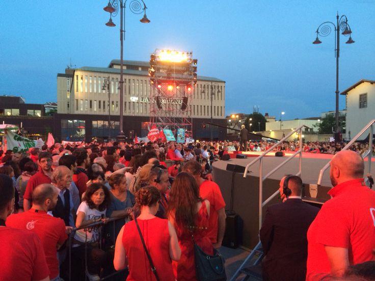 In piazza #firenze