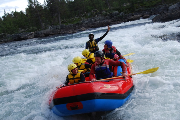 White water rafting is fun for families, friends, corporate groups and school classes.