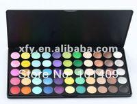 Barato de sombra de ojos profesional 55 color mate de la gama de colores paleta / Maquillaje