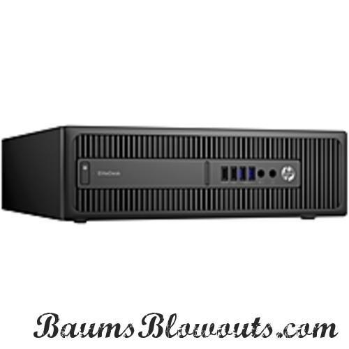 HP EliteDesk 800 G2 Desktop Computer - Intel Core i5-6500 3.2 GHz Quad-Core Processor - 8 GB DDR4 SDRAM - 256 GB Solid State Drive - Windows 7 Professional 64-bit Edition / Upgrade Windows 10 Professional 64-bit Edition