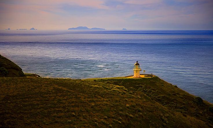 Cape Reinga lighthouse,   see more at New Zealand Journeys app for iPad www.gopix.co.nz