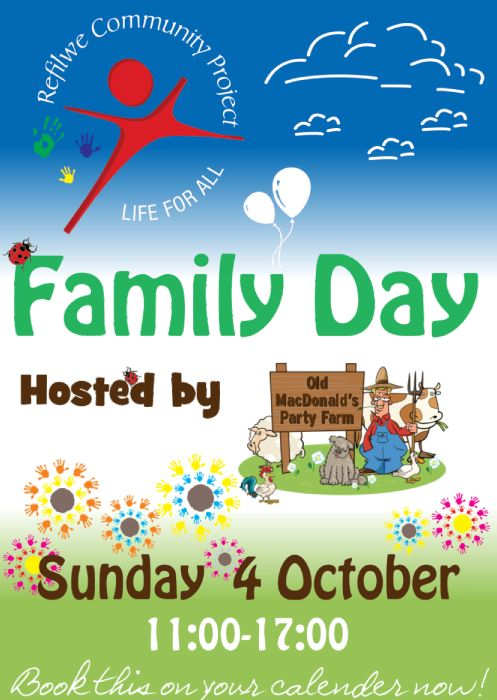 Join us on the 4th October with Refilwe Preschool and community outreach for a charity fun day!  From 11am to 5pm Bring friends, family, hats and CASH!! Lots to buy and lots of FUN!! Get the kids out for the day...bring them to our fun day. A day of jumping castles, popcorn, candyfloss, face painting, exciting stalls. delicious food, live music, auctions, raffles and all for a good cause!