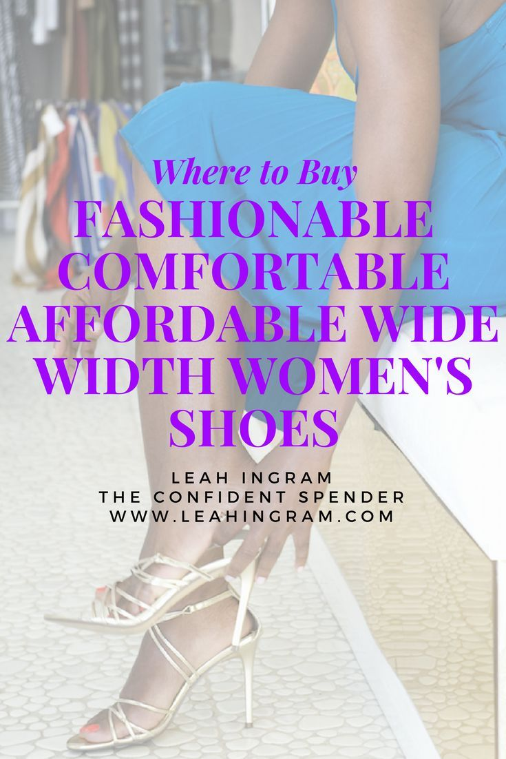 Wide width shoes, Women shoes
