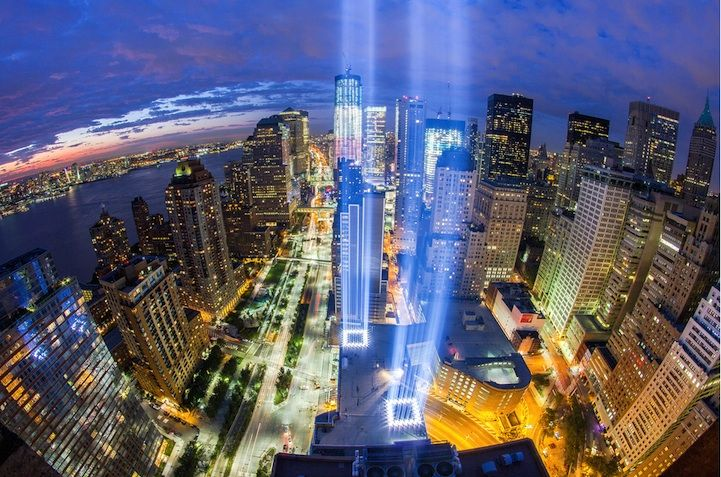 In honor of September 11, we take a look at one of the most powerful public artworks to ever have been created. Tribute in Light consists of 88 searchlights that together form two vertical columns of blue light, reminiscent of the fallen Twin Towers. Placed next to the site of the World Trade Center, they're …