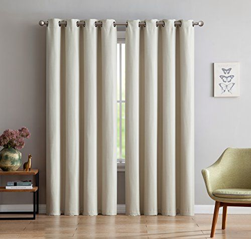 maya premium textured thermal weaved heavy duty blackout curtain by linen source energy efficient noise reduction blocks of light u0026 uv rays x