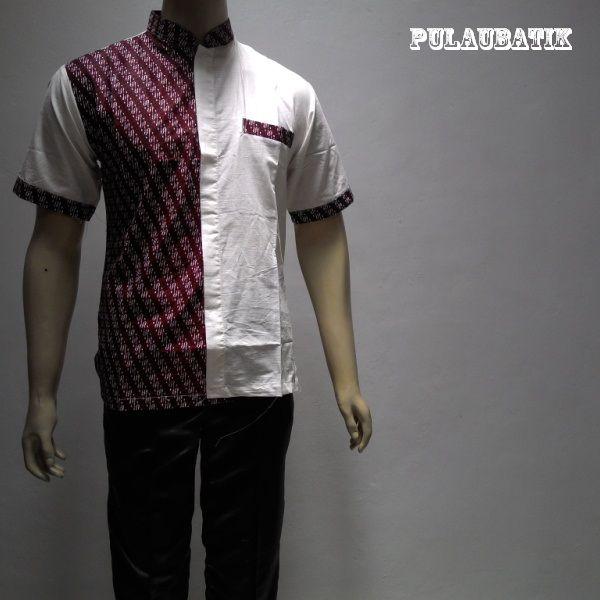 Model Batik Gaul Untuk Pria Dengan Bahan Katun Yang Motifnya Modern