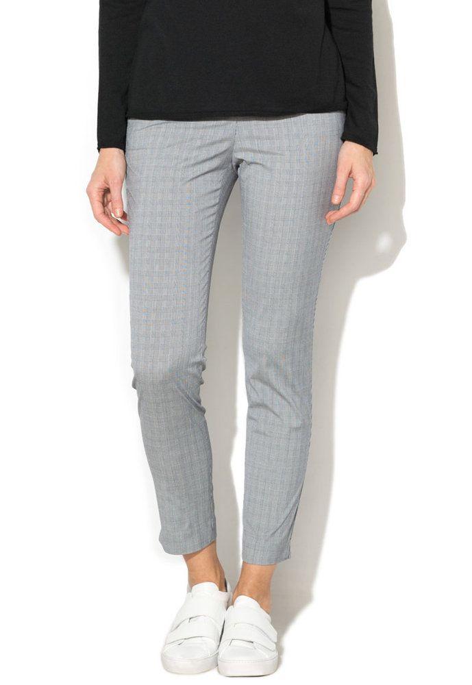 3634a0fbcdf Дамски кариран #Панталон чино - Stefanel | Дамски Панталони и Клинове |  Pants, Suits, Fashion