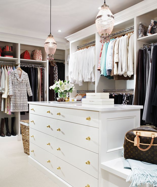 20 Dreamy Walk In Closets To Covet. WalksDressing RoomsDressing ...