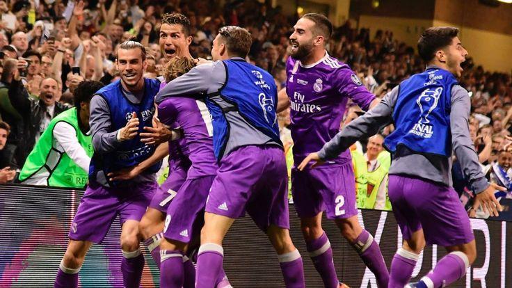 Real Madrid make history, thrash Juve 4-1 to retain Champions League title