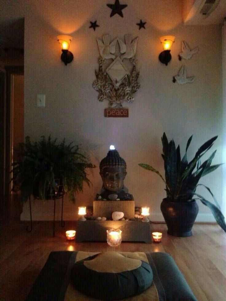 Meditation Room Idea Picture Buddhism Yoga And