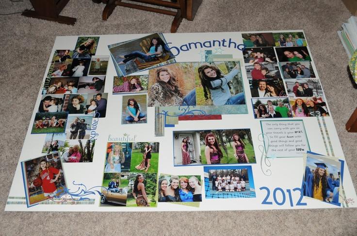 Tri Fold Display Board For My Niece 39 S Graduation Open