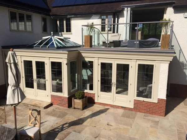 Bifolding Doors On Balcony And Orangery By Traditional