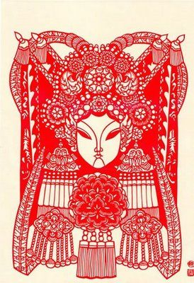 Time-Honored Chinese Paper Cutting Art (I) - China Gift and Fine Arts & Crafts in China #OrientArt #China #Japan #OrientalArt #OrientCustom