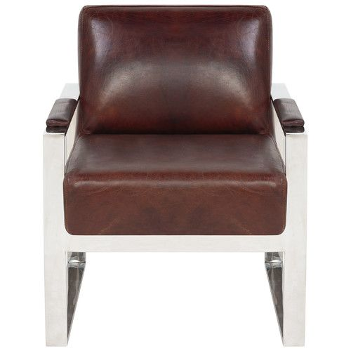 Found it at Joss & Main - Parkgate Leather Arm Chair