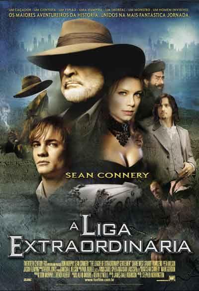 """""""A Liga Extraordinária"""" (The League of Extraordinary - 2003)"""