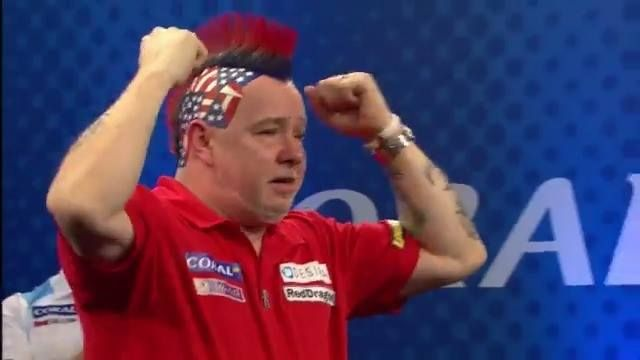 It's been a long time coming for Peter Wright... finally crowned Champion of a PDC Televised title! What a moment!  Credit: Professional Darts Corporation