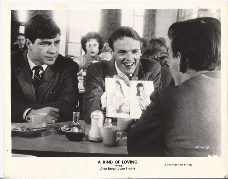 #Sixties | Alan Bates and a very young James Bolam in A Kind of Loving, 1962