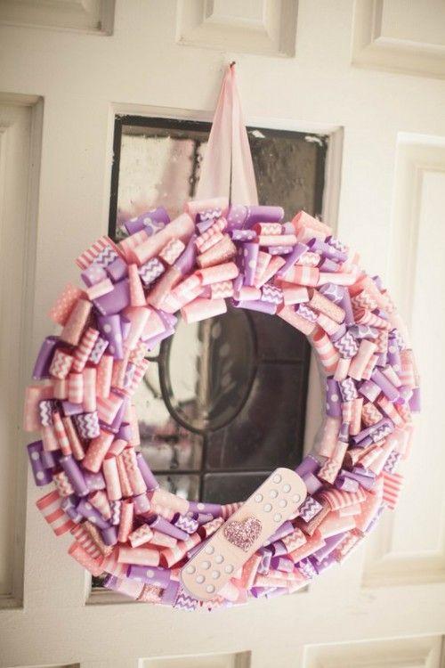 decor wreath doc mcstuffins party