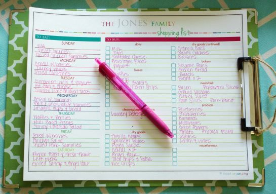 Meal planning/ food list: Iheart Organizations, Idea, Meals Plans Tips, Shops Lists, Menu Plans, Week Meals Plans, Meals Planners, Grocery Shopping Lists, Menu Planning