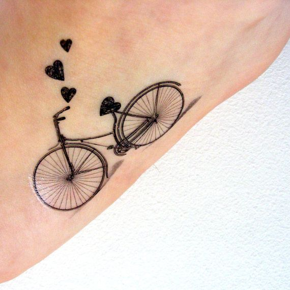 Awesome Bike Tattoos That Every Cyclist Must See - M...