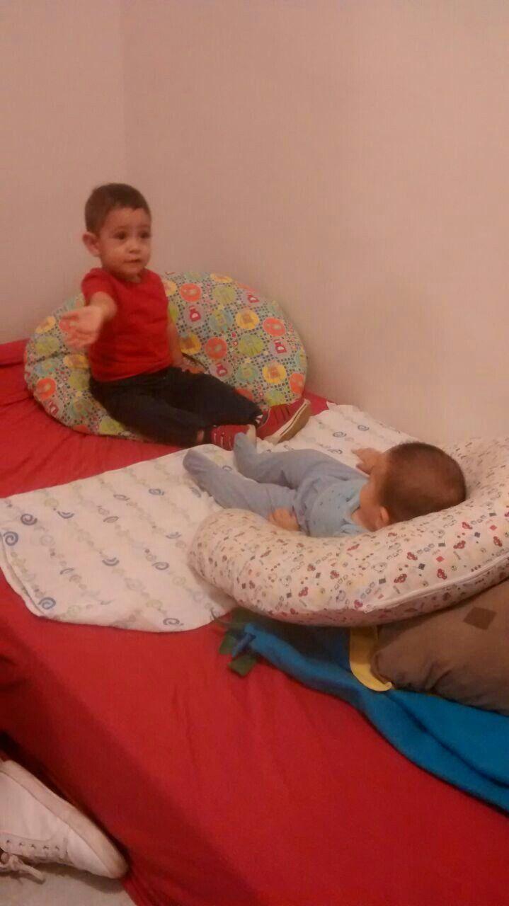 Cojín lactancia materna. Leo & Ian #gabylunh