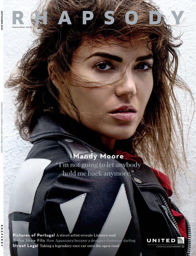 Mandy Moore – Rhapsody Magazine (September 2016)