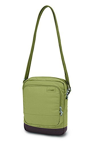 Pacsafe Citysafe LS150 AntiTheft CrossBody Shoulder Bag Rosemary -- To view further for this item, visit the image link.
