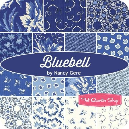 Bluebell 10 Quot Squaresnancy Gere For Windham Fabrics Layer