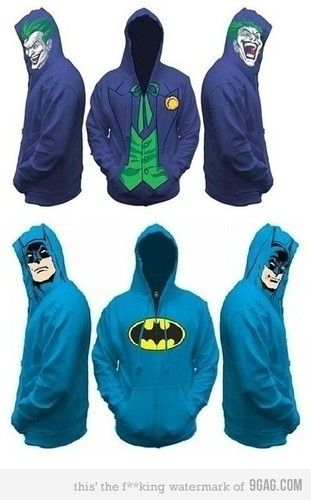 Batman Hoodie. I want this!