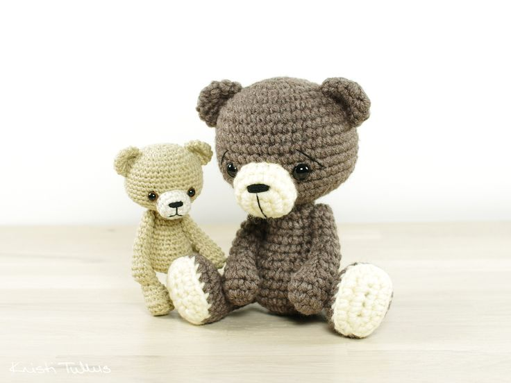 Tiny Amigurumi Bear Pattern : 1000+ images about Crochet, knitting & Sewing Patterns on ...