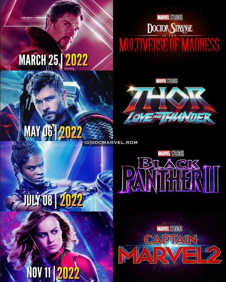 Dc Marvel Random On Instagram Marvel Cinematic Universe 2022 Slate Movies In This Marvel Cinematic Universe Movies Marvel Cinematic Marvel Cinematic Universe