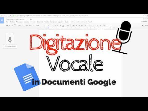 La digitazione vocale nei Documenti Google: video tutorial di Jessica Redeghieri