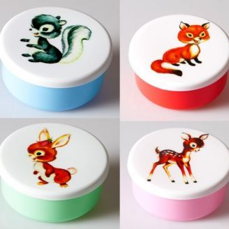 Sass and Belle Retro Snack Containers