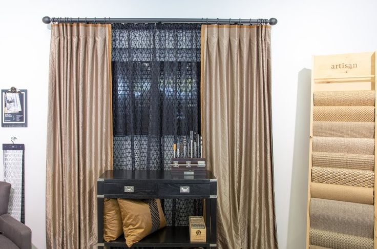 Metallic Glamour, Drapery fabric: Couture.  Embroidered Geometric Sheer fabric: Sue. www.lahood.co.nz