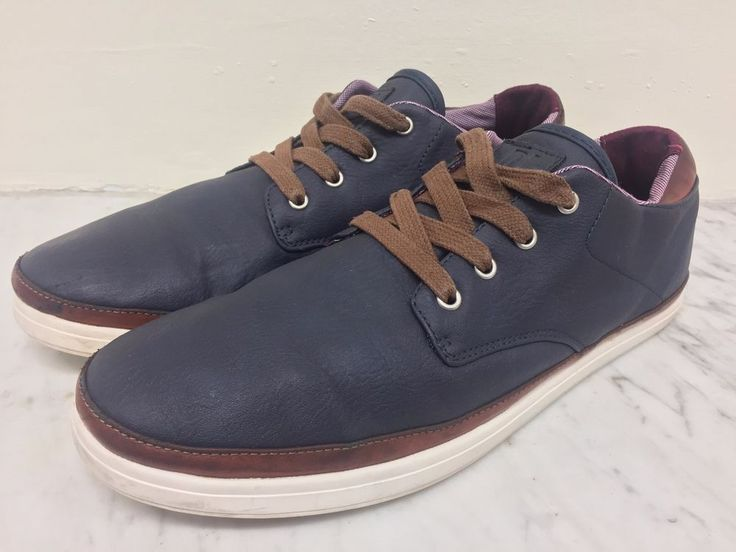men's RIVER ISLAND casual SHOES / SIZE UK 8 / vgc / lace up / FREE POSTAGE #RiverIsland #Laceup