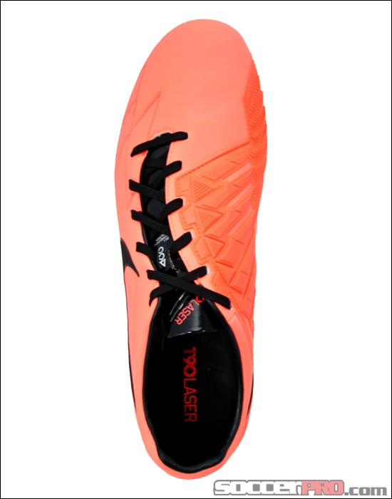 Nike T90 Laser IV FG Soccer Cleats - Bright Mango with Black...$188.99