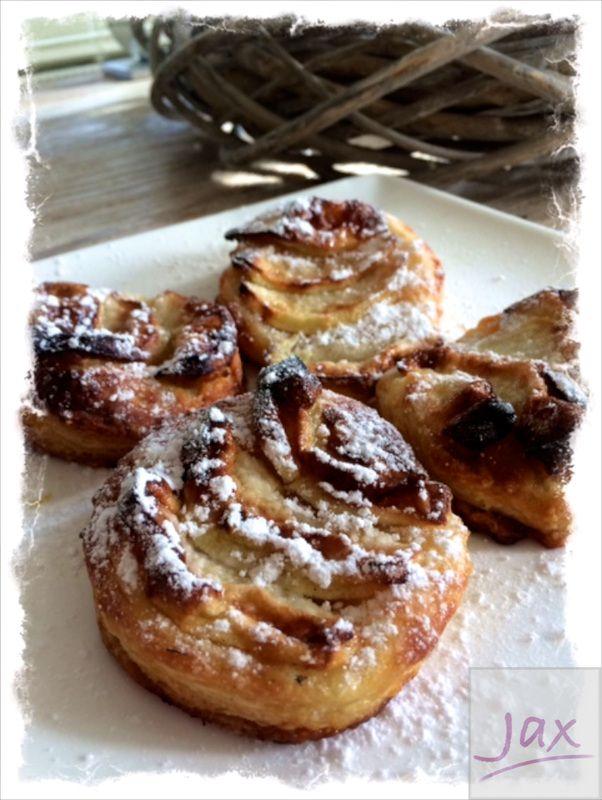 Appelmeisjes - tarte fine