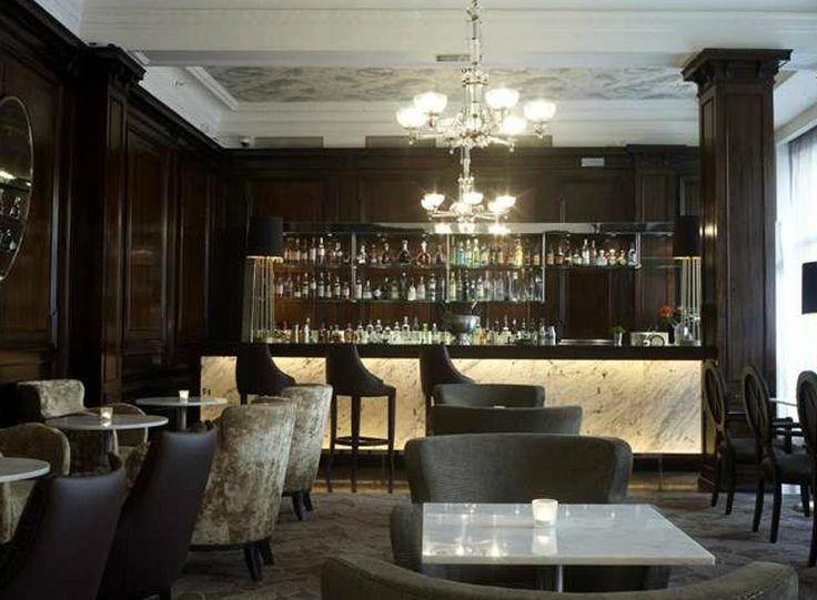 warm wood backdrop - Beaded Inset Restaurant Interior
