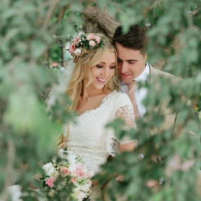 Boho Modest Bridal Gown of Alta Moda Bridal  – hochzeit bilder