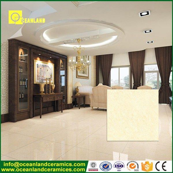 latest design white double loading crystal floor tile