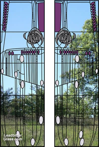 charles rennie mackintosh stained glass patterns - Google Search