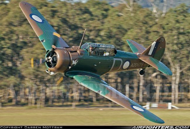 Ex RAAF Commonwealth CA-3 Wirraway. Luskintyre - Australia, July 27, 2013.